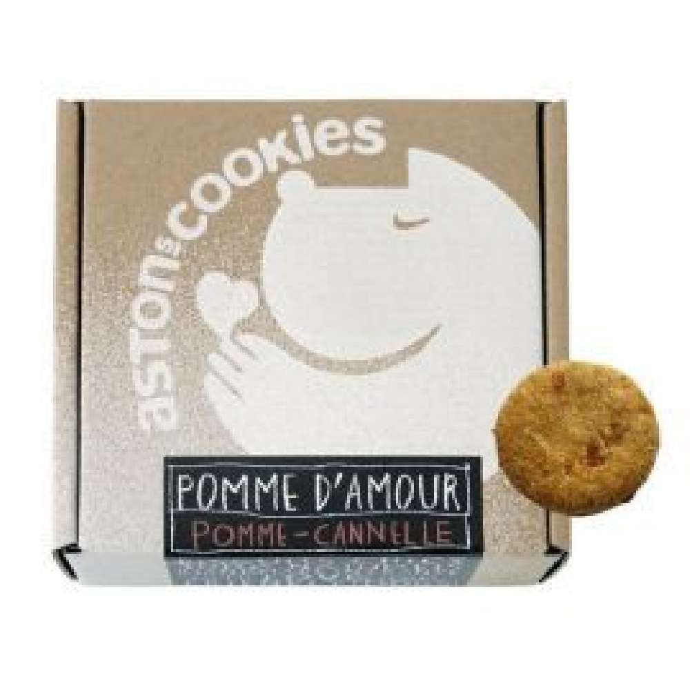 Biscuits pomme cannelle ASTON'S COOKIES